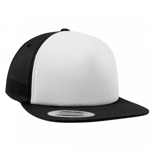 Casquette trucker Yupoong front mousse